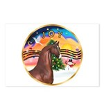 XmsMusic2/Horse (Ar-Br) Postcards (Package of 8)