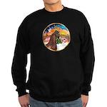 XmsMusic2/Horse (Ar-Br) Sweatshirt (dark)
