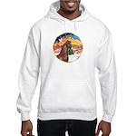 XmsMusic2/Horse (Ar-Br) Hooded Sweatshirt