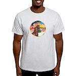 XmsMusic2/Horse (Ar-Br) Light T-Shirt