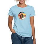 XmsMusic2/Horse (Ar-Br) Women's Light T-Shirt