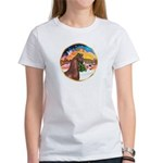 XmsMusic2/Horse (Ar-Br) Women's T-Shirt