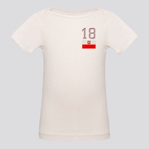 Team Poland - #18 Organic Baby T-Shirt