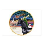 XmsMagic/Horse (Ar-blk) Postcards (Package of 8)