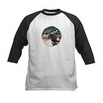 XmsMagic/Horse (Ar-blk) Kids Baseball Jersey