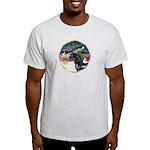 XmsMagic/Horse (Ar-blk) Light T-Shirt