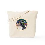 XmsMagic/Horse (Ar-blk) Tote Bag