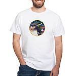 XmsMagic/Horse (Ar-blk) White T-Shirt