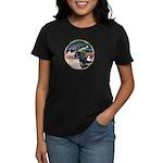 XmsMagic/Horse (Ar-blk) Women's Dark T-Shirt