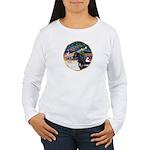 XmsMagic/Horse (Ar-blk) Women's Long Sleeve T-Shir