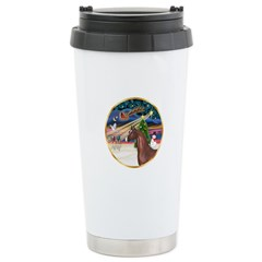 XmsMagic/Horse (Ar-Br) Stainless Steel Travel Mug
