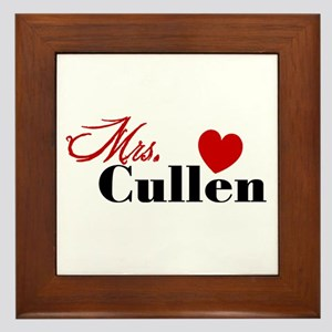 Mrs. Edward Cullen Framed Tile