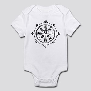 Dharma Wheel Infant Bodysuit