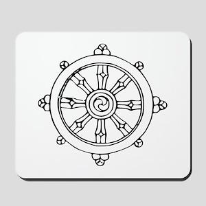 Dharma Wheel Mousepad