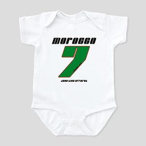 Team Morocco - #7 Infant Bodysuit