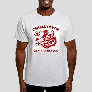 Chinatown San Francisco Ash Grey T-Shirt