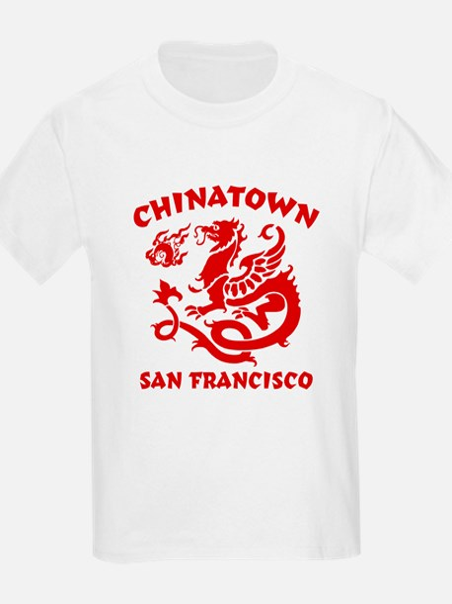 Chinatown San Francisco Kids T-Shirt