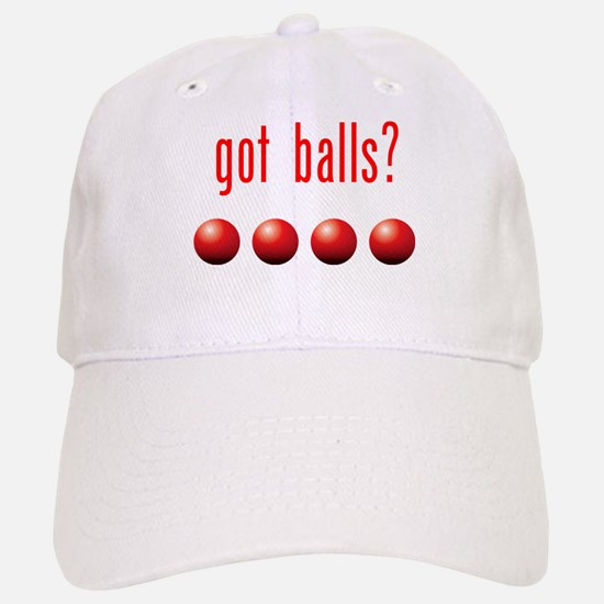 Got Dodge Balls? Baseball Baseball Cap