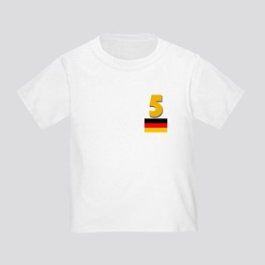 Team Germany - #5 Toddler T-Shirt