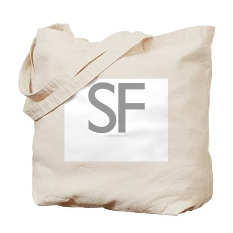 SF (Grey) - Tote Bag