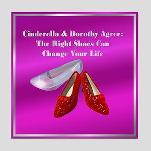 Fuschia Cinderella Tile Coaster