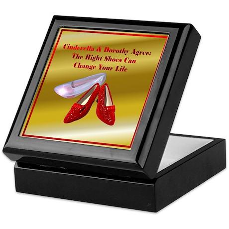 Gold Cinderella Keepsake Box