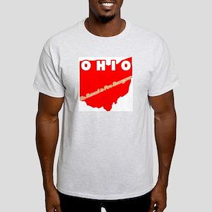 Vintage Ohio Ash Grey T-Shirt