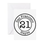21 Hayes Greeting Cards (Pk of 10)
