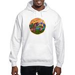 XmsFntsy/Horse (Ar-Br) Hooded Sweatshirt