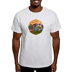 XmsFntsy/Horse (Ar-Br) Light T-Shirt