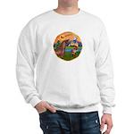 XmsFntsy/Horse (Ar-Br) Sweatshirt