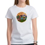 XmsFntsy/Horse (Ar-Br) Women's T-Shirt