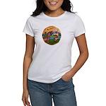 XmsFntsy/Horse (Ar-Br) Women's T-Shirt