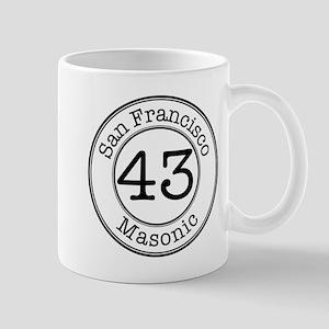 Circles 43 Masonic Mug
