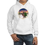 TakeOff2/Horse (Ar-Br) Hooded Sweatshirt