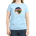 TakeOff2/Horse (Ar-Br) Women's Light T-Shirt