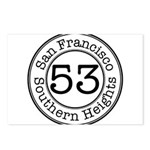 Circles 53 Southern Heights Postcards (Package of