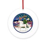 XmsMagic/Horse (Ar-W) Ornament (Round)