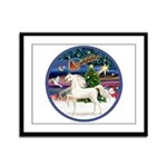 XmsMagic/Horse (Ar-W) Framed Panel Print