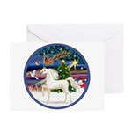 XmsMagic/Horse (Ar-W) Greeting Cards (Pk of 20)