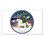 XmsMagic/Horse (Ar-W) Rectangle Sticker