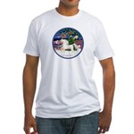 XmsMagic/Horse (Ar-W) Fitted T-Shirt
