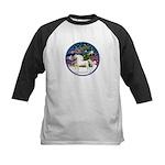 XmsMagic/Horse (Ar-W) Kids Baseball Jersey