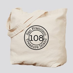 Circles 108 Treasure Island Tote Bag