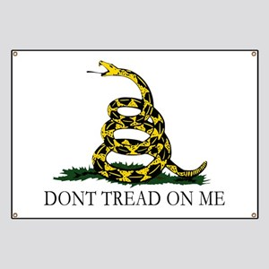 Anti Big Government Ensign Gadsden Banner