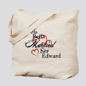 Bella married Edward Tote Bag