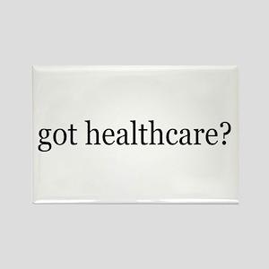 got healthcare? (Pubic Option) Rectangle Magnet