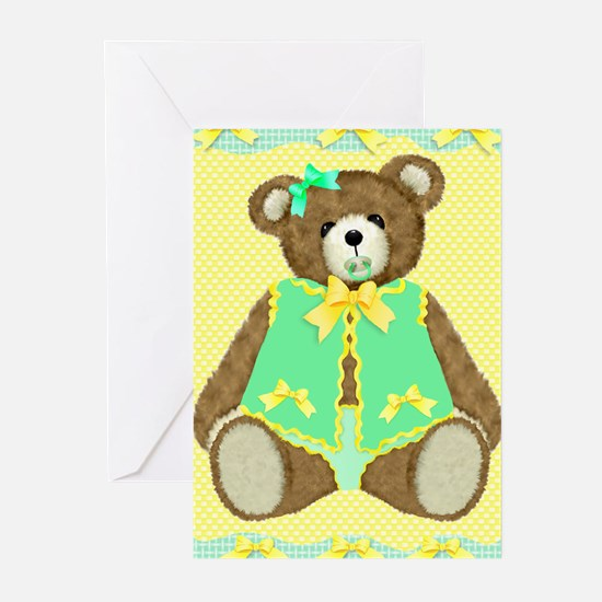 Baby Teddy Bear Greeting Cards (Pk of 10)