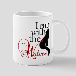 I run with wolves Mug