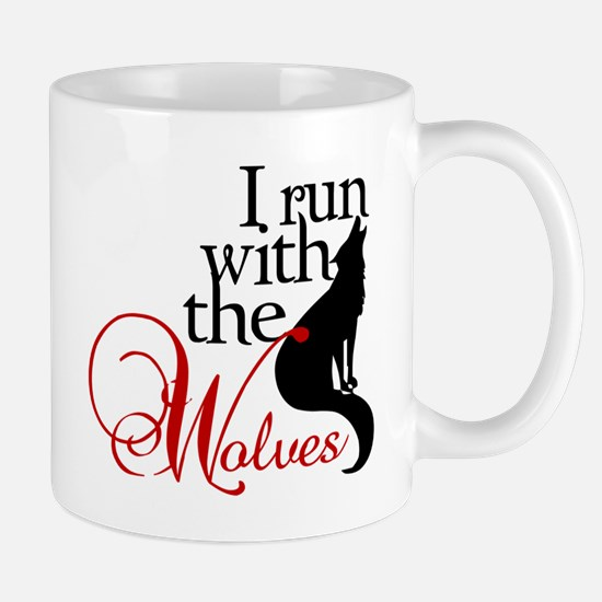 I run with wolves Mug